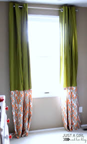 Diy No Sew Curtains Ikea Hack No Sew Curtains Just A Girl And Her Blog