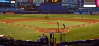Tropicana Field Seating Chart With Rows Tampa Bay Rays Tickets Best Prices