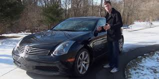Review: 2005 Infiniti G35 Coupe - YouTube