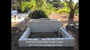 Seating Wall Blocks My First Brick Block Wall Veneer Stone Planter Youtube