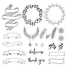 Svg (vector) graphics have begun to rise in popularity over png/jpeg (raster) graphics. Free Hand Drawn Decorative Elements Svg Dxf Eps Png Free Svg Cut Files