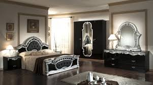 bedroom furniture black glass photo 14