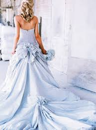 wonderful blue colored wedding dresses cherry marry