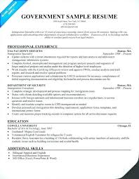 Government Resume Template Delectable Government Resume Format Doki Okimarket Co Resume Template Printable