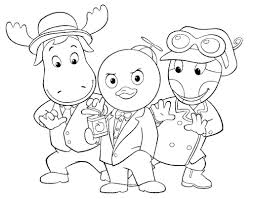 Small Picture New Backyardigans Coloring Pages 60 On Free Coloring Kids with