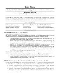 business systems analyst resume system analyst resume example business systems analyst resume
