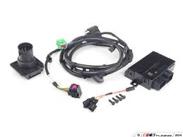 es 2205380 7p1055203 touareg trailer hitch electrical installation kit module 7