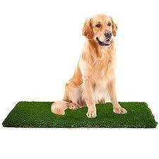 mtbro artificial grass rug perfect dog grass mat and grass doormat realistic indoor outdoor artificial turf blade height 1 5 100oz sq yard 28 x40