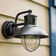 motion activated outdoor wall lights are practical energy efficient and add an