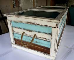 best example of handmade shadow box coffee table
