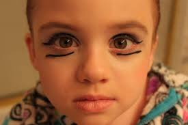 the last time i received makeup
