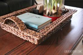 Decorating With Trays On Coffee Tables Ultimate Wooden Trays For Coffee Tables With Home Decoration Planner 70