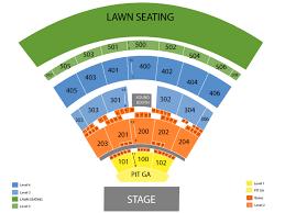 Live Nation Darien Lake Seating Chart Darien Lake Performing Arts Center Seating Chart Cheap