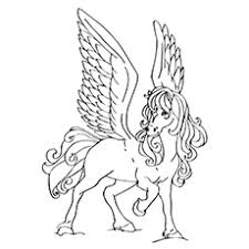 Small Picture Top 10 Free Printable Pegasus Coloring Pages For Toddlers