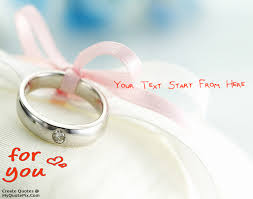 Ring Quotes Impressive Write Quote On Proposal With Ring Picture