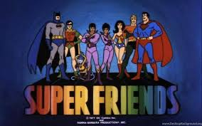 Old School Super Friends Desktop Background Awesome Old School Friends