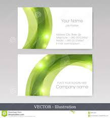 Business Card Templates Vector Illustration Stock Vector