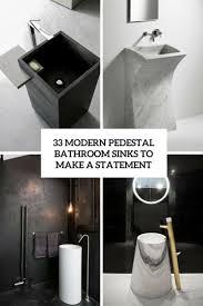 bathroom modern sinks. Modern Pedestal Bathroom Sinks To Make A Statement Cover