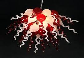 modern red chandeliers modern red led light source hand blown glass chandelier lighting home decor ideas modern red chandeliers