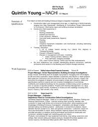Carpenter Resume Objective Find Your Sample Resume