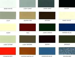 Color Chart Best Exterior Paint Benjamin Moore Colors