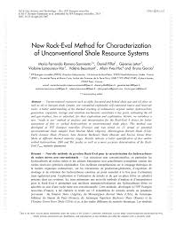 (PDF) <b>New Rock</b>-Eval Method for Characterization of ...