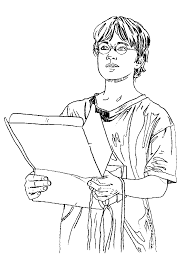 Harry Coloring Page Harry Potter Coloring