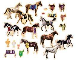 Horse Breeds Wooden Horses