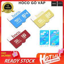 ⚡NowShip⚡ Thẻ Nhớ Hoco 64Gb 32Gb 16Gb 8GB 4GB chuyên dụng cho CAMERA, Điện  thoại, Máy ảnh, Loa,Tai Nghe - Thẻ nhớ máy ảnh Nhãn hàng hoco.