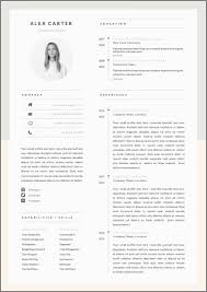 98 Free Modern Resume Templates For Word 125 Free Resume