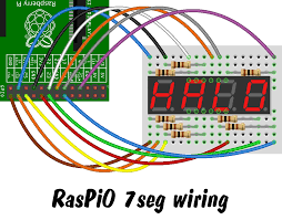 how to drive a 7 segment display directly on raspberry pi in wiring diagram for 7 segment display