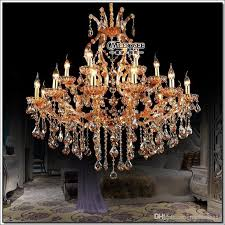 high quality maria theresa crystal chandelier light large crystal pendant lamp big amber chandelier light prompt acrylic chandelier victorian