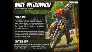Mike Witkowski 2015 Sponsorship Resume Youtube