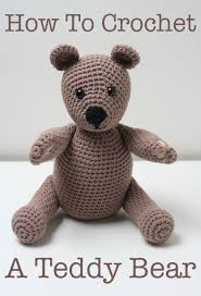 Basic Teddy Bear Crochet Pattern Awesome Decorating