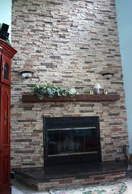 Gas Fireplace Decorative Stones : Gas Fireplace Decorative Stones Design  Ideas Modern Fantastical In Gas Fireplace