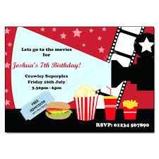 Movie Night Invitation Templates Movie Invitations Cinema Movie Night Invitation Cinema Ticket