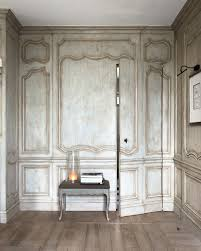 french régence style paneling traditional living room