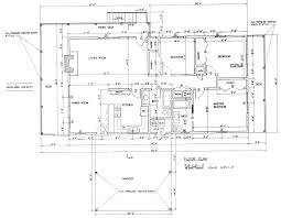 draw house plans for free. Free 3 Bedroom Ranch House Plan With Porch For Sloped Lot Draw Plans