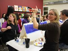 painting with a twist comes to skippack canvas