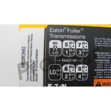18 Speed Shift Pattern Classy Eaton Fuller 48 Speed Shift Pattern 48