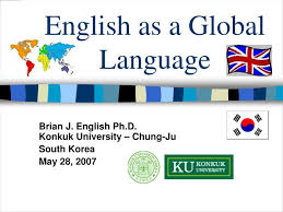 ppt english as a global language powerpoint presentation id  english as a global language