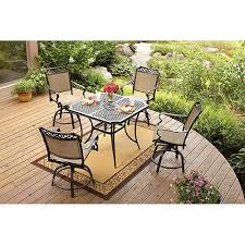 Small Picture Better Homes and Gardens Paxton Place 5 Piece High Patio Dining