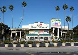 Image result for The match is played at California's Rose Bowl