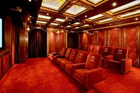fiber optic lighting for home theatre. home theatre seating theater traditional with led lighting coffered ceiling fiber optic for
