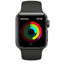 apple 3 watch. three rings. one goal. apple 3 watch