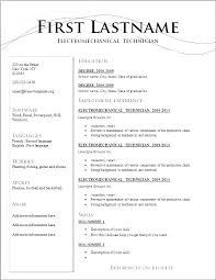 Examples Of Resume Formats Extraordinary Resume Outlines Examples Nice Resume Format Good Resume Formats Big