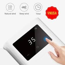Quạt điều hòa không khí mini màn hình hẹn giờ cảm ứng Xiaomi Microhoo chất  lượng cao, Giá tháng 1/2021