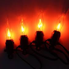 Flickering String Lights 10 Flicker Bulb Stringlights