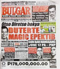 Follow or like tabloid newspapers for up to date breaking and. Pinoytapsilog On Twitter The Philippines Most Widely Circulated Tabloid With The Most Truthful Headline Today Bulgar Wednesday Edition May 15 2019 Https T Co Drvdyndtjh