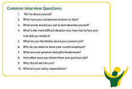 Common Marketing Interview Questions Tips For Job Interview With Sample Questionnaire Examples